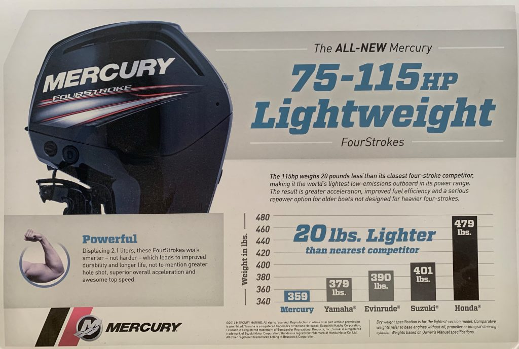 New Mercury Outboards – Griffith's Wawasee Marina